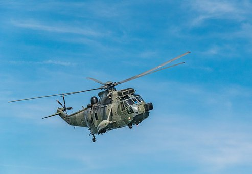 Helicopter, Military, Sky, Army, Navy