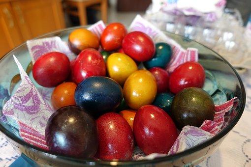 Food, Easter, Egg, Eggs, Orthodox, Paschal Eggs