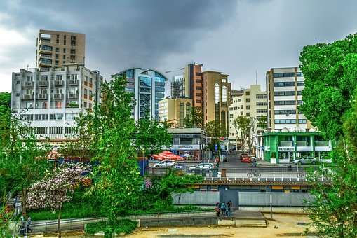 City Life, Architecture, City, Panoramic, Outdoors