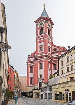 Passau, Old Town, Parish Church Of St Paul, Embossing