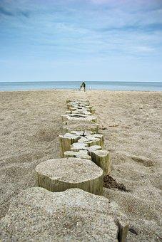 Sea, Sky, Travel, Waters, Stone, Sand, Beach, Coast