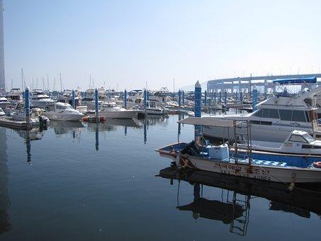 Yacht, Sea, Marina, Pier, Boat, Times, Coast
