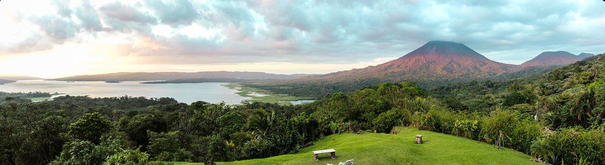 Nature, Panoramic, Panorama, Landscape, Sky, Costa Rica