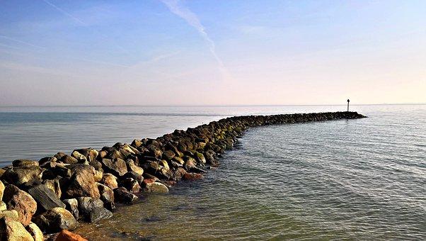 Groyne, Meeresbuhne, Stone Embankment, Denmark