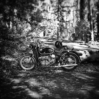 Vehicle, Motorcycle, Bmw, Vintage Motorcycle, R69s