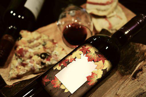 Wine, Wine Bottle, Invitation, Invitation To Dinner