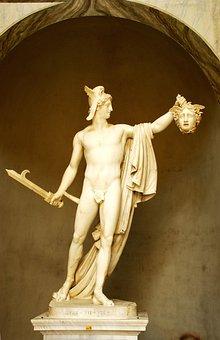 Sculpture, Art, Statue, Perseus, Medusa, Vatican Museum