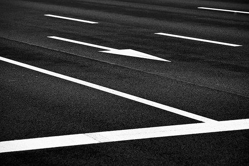 Road, Asphalt, Lines, Ground, Grey, Roadway, Tar