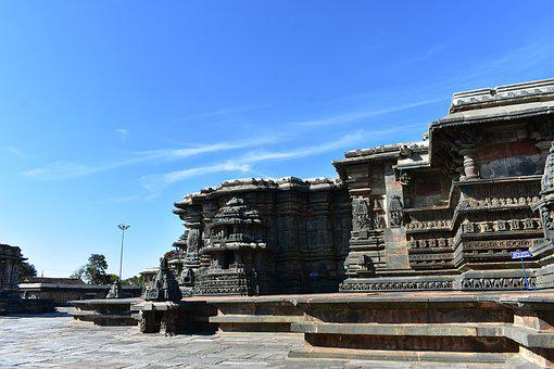 Travel, Water, Architecture, Outdoors, Sky, Belur