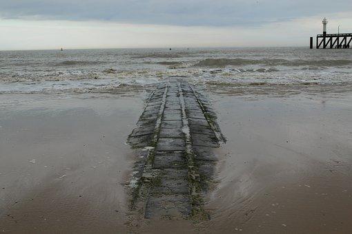 Body Of Water, Beach, Mar, Costa, Ocean, Sand
