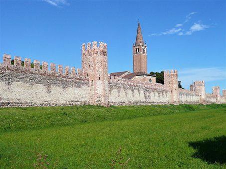 Walls, Castle, The Walls, Architecture, Palazzo, Gothic