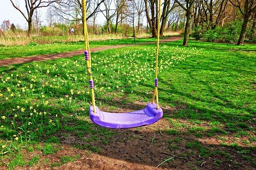 Swing, Child Swing, Fun, Exercise, Swinging, Childhood