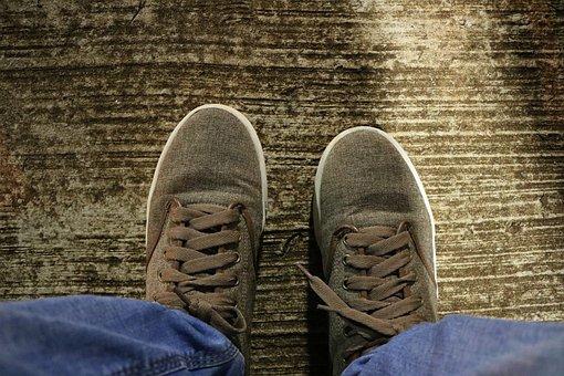 Clothing, Footwear, Two, Foot