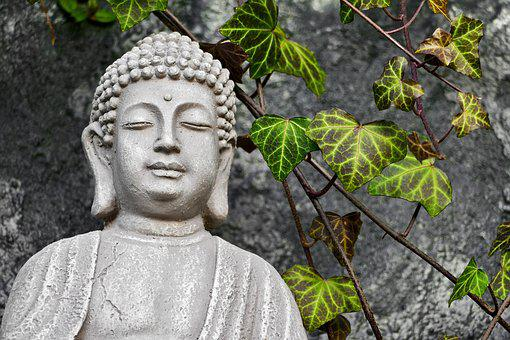 Buddha, Sculpture, Statue, Stone, Decoration, Figure