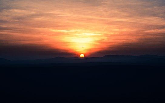 Sunset, Sun, Dusk, Dawn, Sky, Evening, Nature