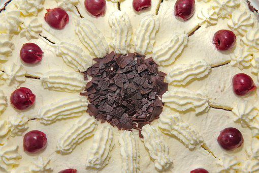Cake, Dessert, Pastries, Food, Black Forest Cake, Eat