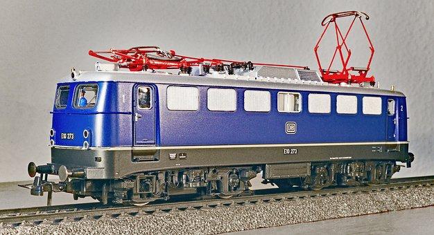 Electric Locomotive, Model, Scale H0, Einheitslok