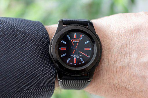 Smartwatch, Wrist Watch, Elagancki, Modern, Pedometer