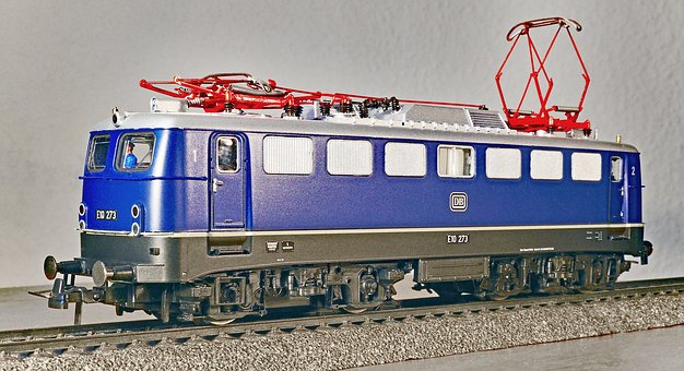 Electric Locomotive, Model, Scale H0, Einheitslok