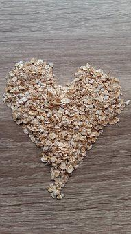 Heart, Oats, Recipes, Food, Kitchen, Background