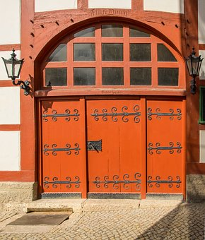 Architecture, Door, Home, Wood, Input, Historically