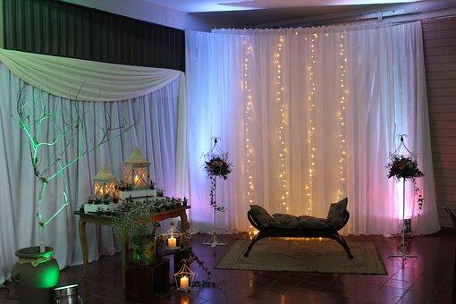 Curtain, Room, Inside, Hotel, House, Sofa, Furniture