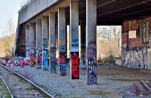 Lost Places, Abandoned Train Station, Railway Station