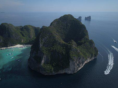 Mountain, Asia, Panorama, Waters, Landscape, Nature
