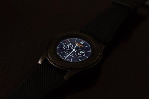Clock, Smartwatch, Wrist Watch, Pedometer
