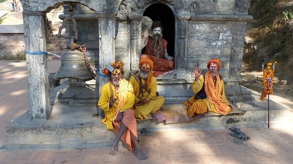 Human, Religion, Buddha, Monk, Adult, Sadhu, Nepal