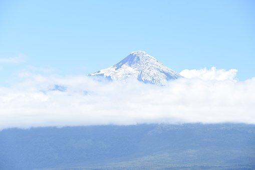 Nature, Sky, Snow, Clouds, Outdoors, Osorno Volcano