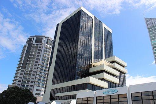 Architecture, Skyscraper, Office, City, Sky, Downtown
