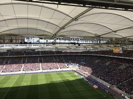 Stadium, Football, Main Grandstand, Competition, Field