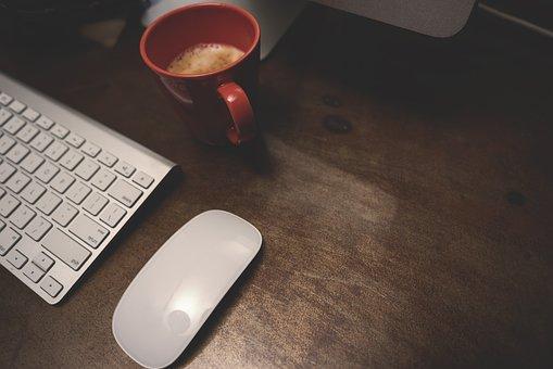 Computer, Desktop, Office, Desk Tidy, Technology, Work