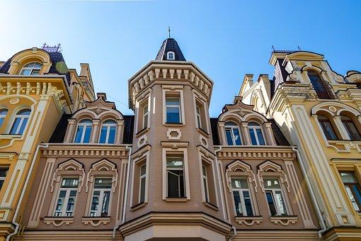 Architecture, Building, Travel, Old, City, Ukraine