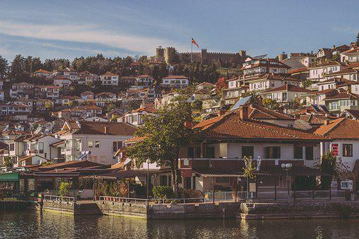 Ohrid Town, Architecture, Travel, Water, House