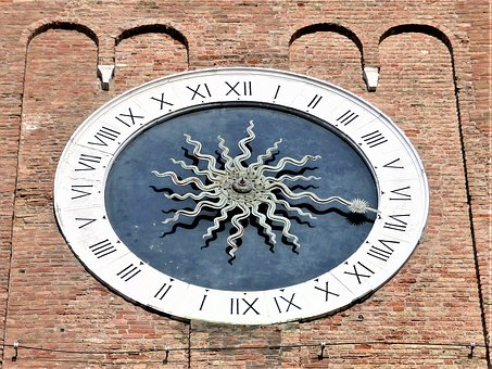 Watch, Old, Symbol, Ancient, Campanile, Veneto, Italy