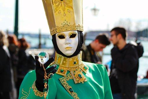 Festival, Celebration, Costume, People, Parade, Venice