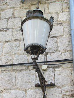Lamp, Lantern, Architecture, Wall, Old, Brick, Home