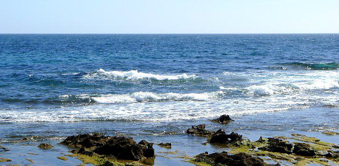 Water, Sea, Seashore, Nature, Beach, Waves, Rocks