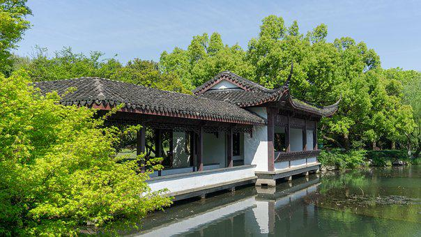 Nature, Wood, Tree, Waters, House, Building, Wooden