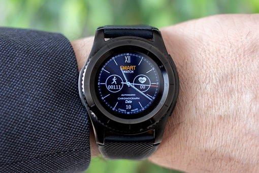 Smartwatch, Wrist Watch, Pedometer, Heart Rate Monitor