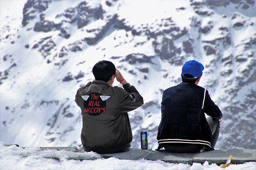 Tourism, Banned, Alcohol, The Alps, Snow, Winter, Beer