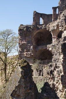 Architecture, Old, Stone, Sand Stone, Heidelberg