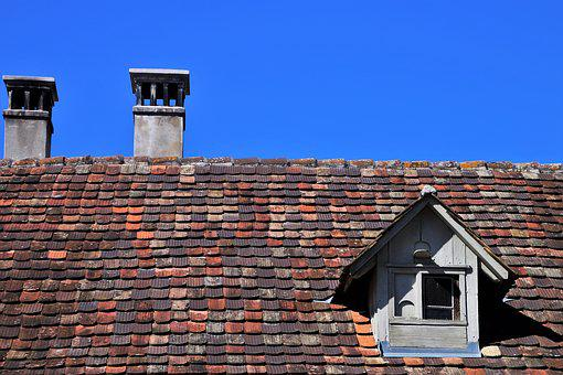 The Roof Of The, House, Architecture, Old, Chimney