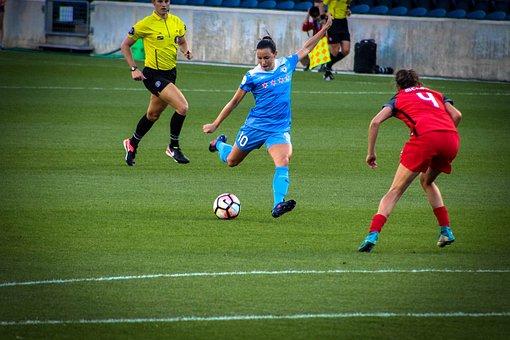 Soccer, Competition, Football, Stadium, Ball, Match