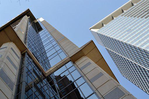 Houston, Texas, Corporate, United States, Usa, Building