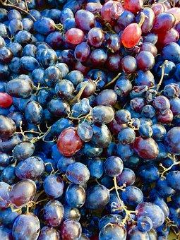 Fruit, Food, Healthy, Berry, Juicy, Bunch, Grape