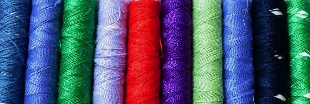Wire, Textile, Cotton, Couture, Coil, Color, Multicolor