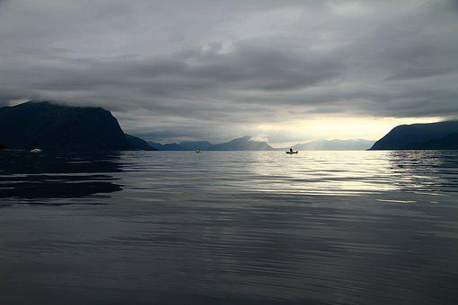 Sea, Fish, Norway, Time Out, Boat Fishing, Catch Fish